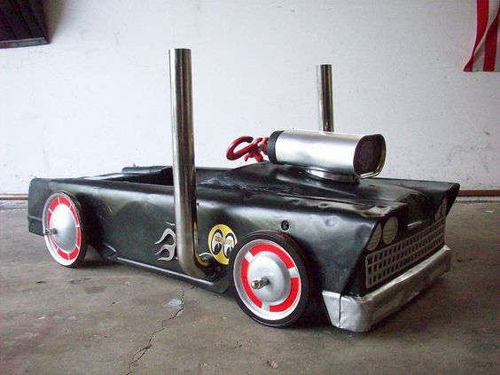 rat rod pedal car by LEADFOOT78, via Flickr