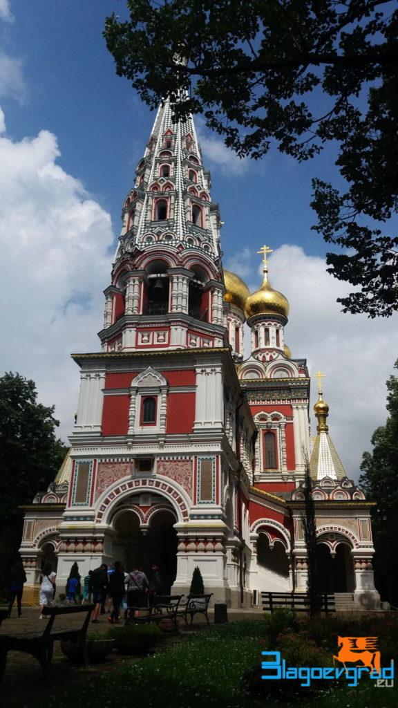 Храм-паметник Рождество Христово - град Шипка