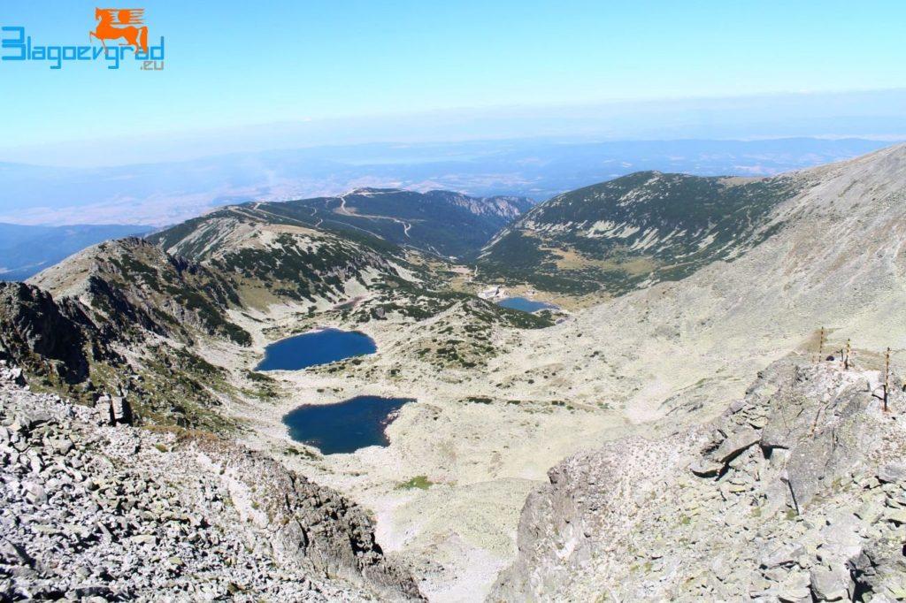 Изглед от връх Мусала