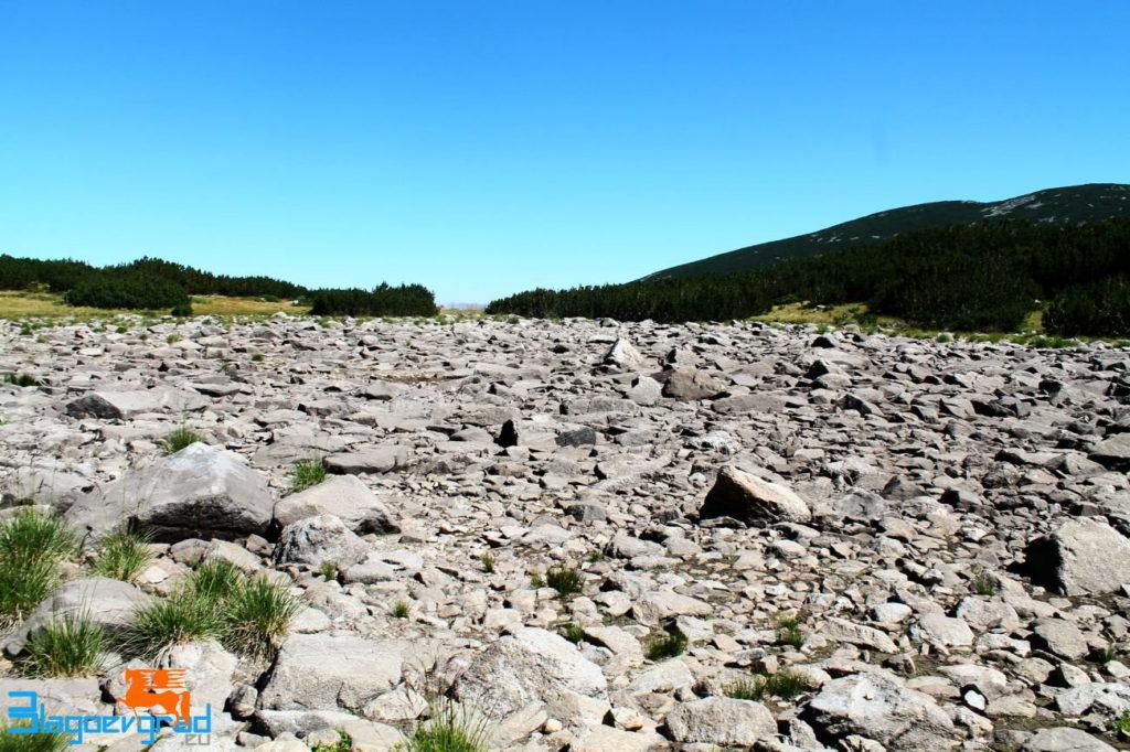 Пресъхнало езеро връх Мусала